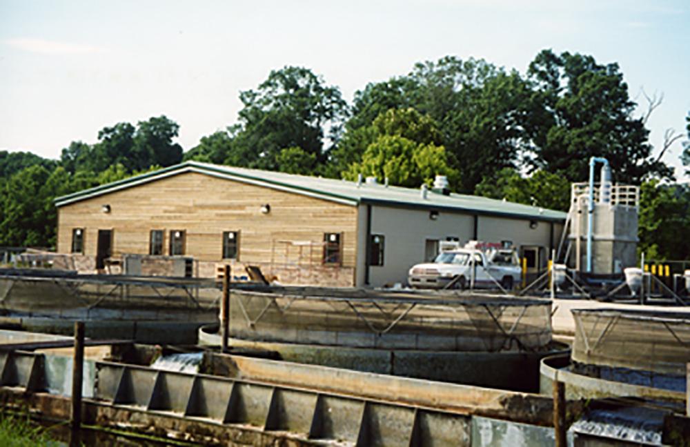 Arkansas Game Fish Commission Hatchery Van Horn